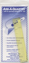 Add A-Quarter Ruler 6in - Product Image