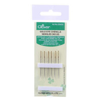 Clover Gold EyeChenille Needles Size 24 - Product Image