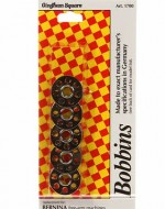Gingham Square Bernina Bobbins - Product Image