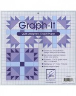 Graph-It Quilt Designer's Graph Paper - Product Image