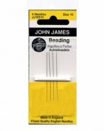 John James Beading Needles Size 10 - Product Image
