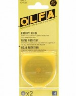 Olfa 45mm Rotary Blade 2-pack - Product Image