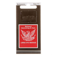 Richard Hemming Between Quilting Needles Large Eye Size 11 - Product Image