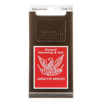 Richard Hemming Between Quilting Needles Large Eye Size 12 - Product Image