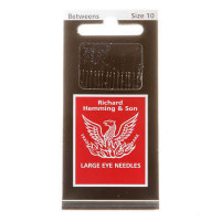Richard Hemming Between Quilting Needles Large Eye Size 10 - Product Image