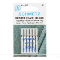 Schmetz Sharp MicrotexMachine Needle Size 60/70/80  - Product Image