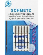Schmetz Super Nonstick Needle 5ct, Size 80/12 - Product Image