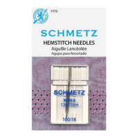 Schmetz Hemstitch / Wing Machine Needle Size 100 - Product Image