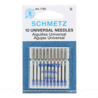 Schmetz Universal Machine NeedleAsst. Sizes 70/80/90 10ct - Product Image